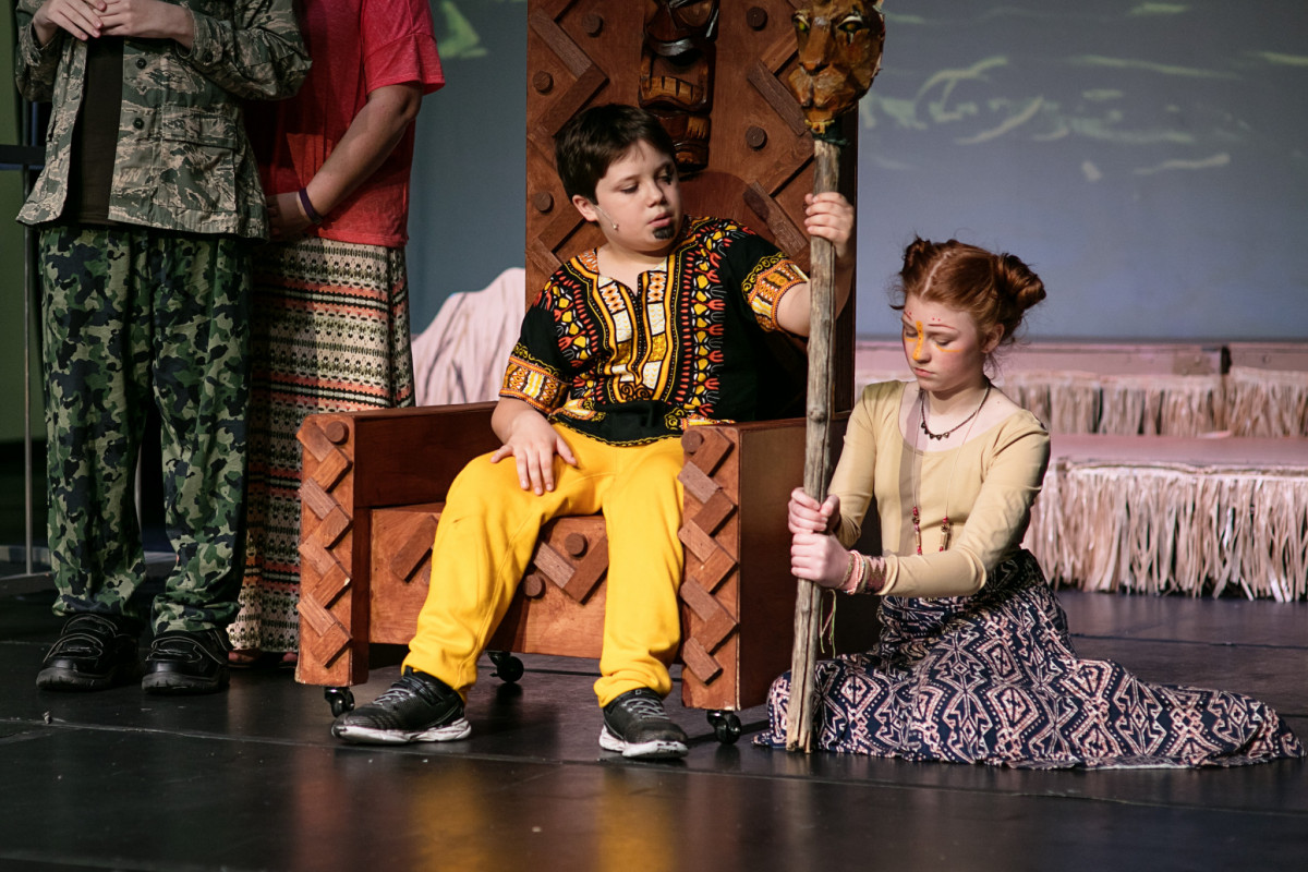 North Texas Performing Arts Starcatchers students perform in The Lion King