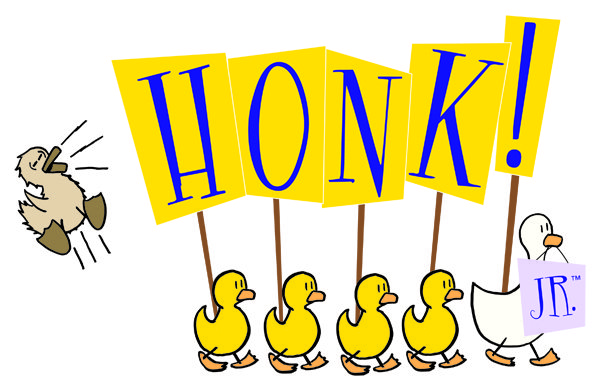 honk jr logo