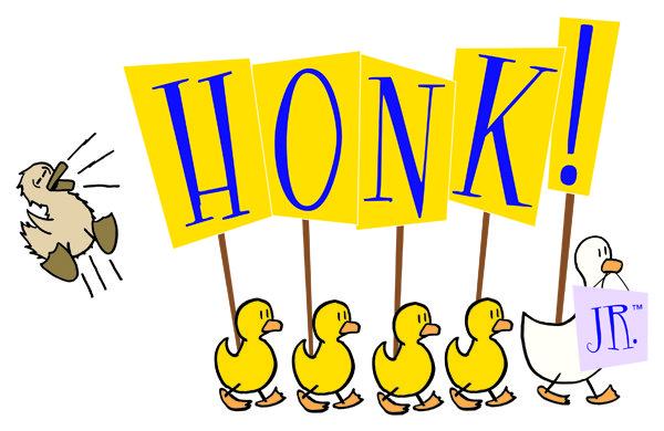 honk jr logo