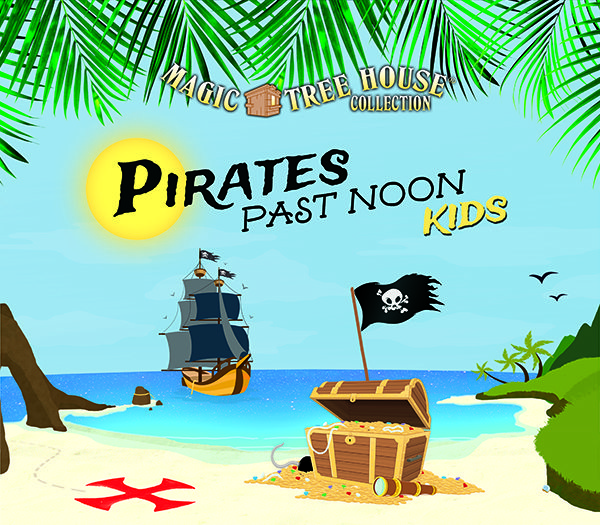 magic tree house collection pirates past noon kids logo