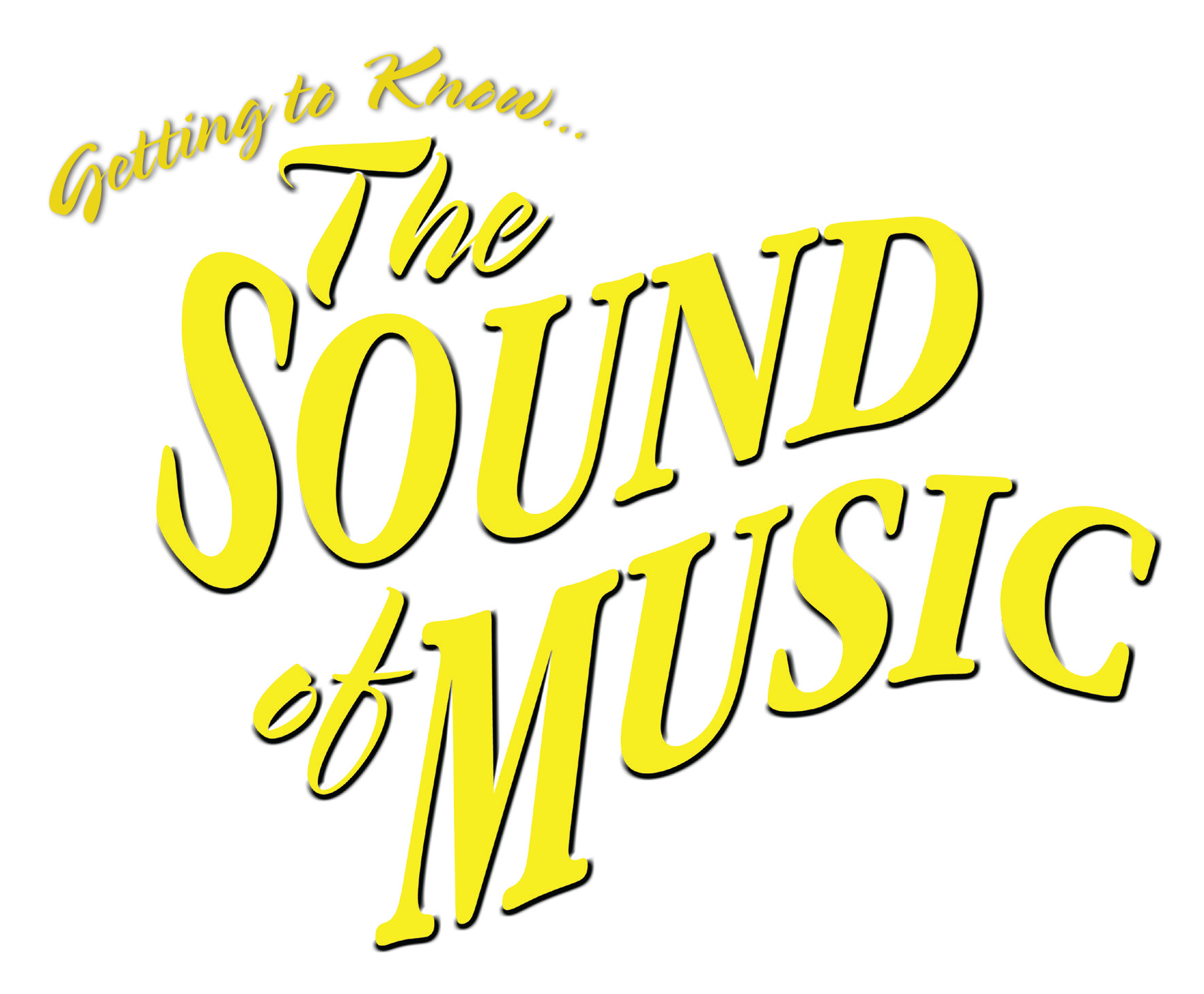getting to know the sound of music logo