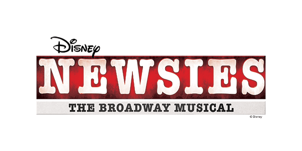Text Logo for NTPA's Production of Newsies