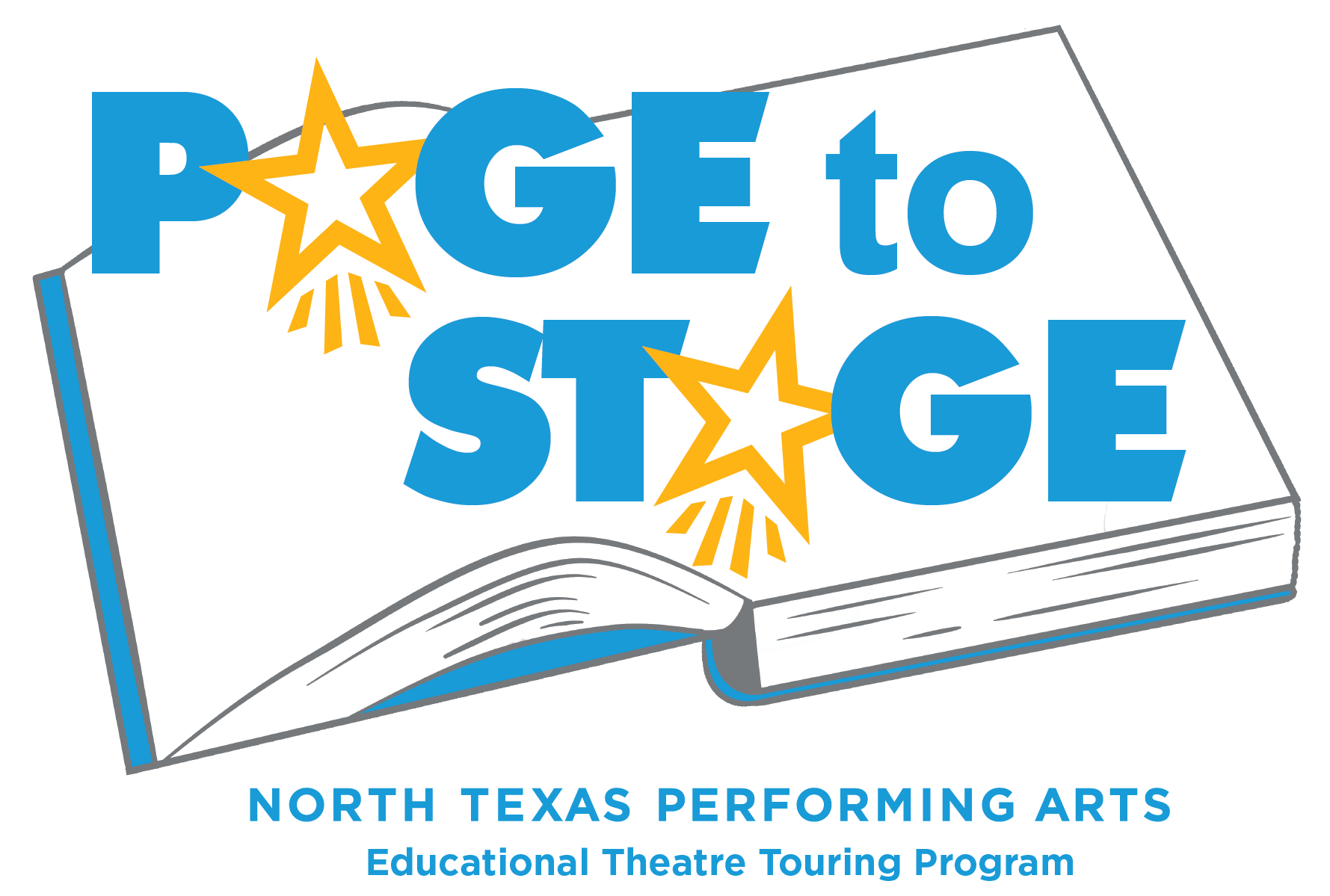page to stage logo educational theatre touring program