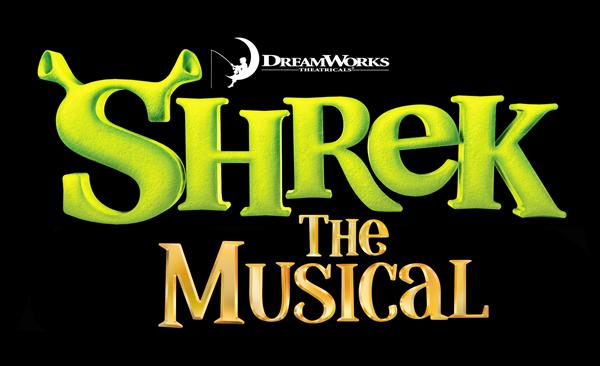 Logo for NTPA's Production of dreamworks shrek the musical