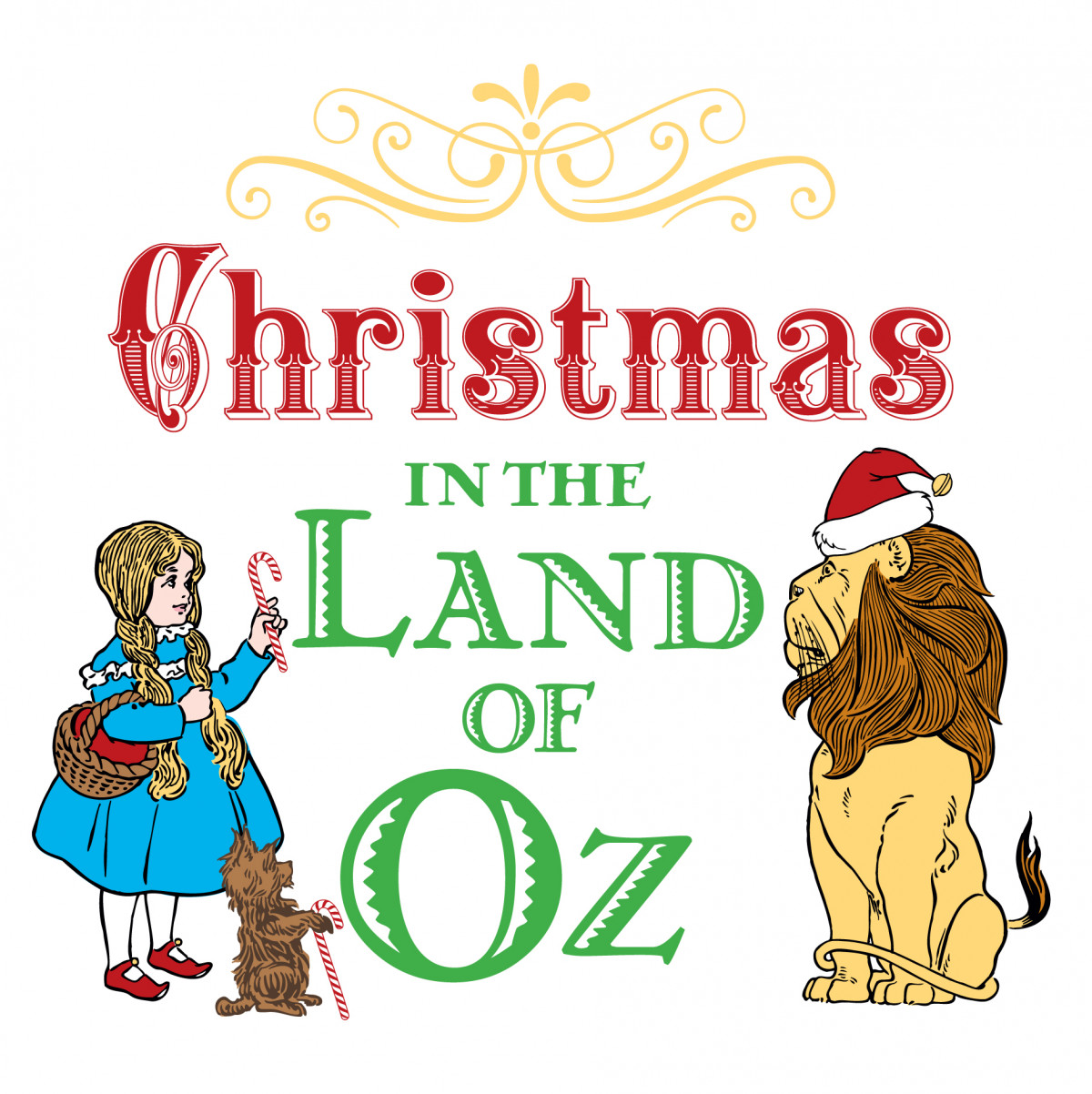 Christmas in the Land of Oz logo