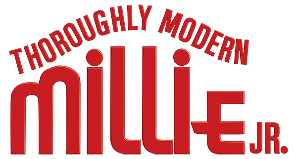 Thoroughly Modern Millie Jr logo