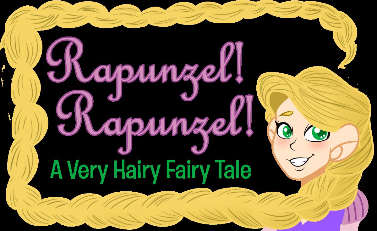 Rapunzel! Rapunzel! A Very Hairy Fairy Tale logo