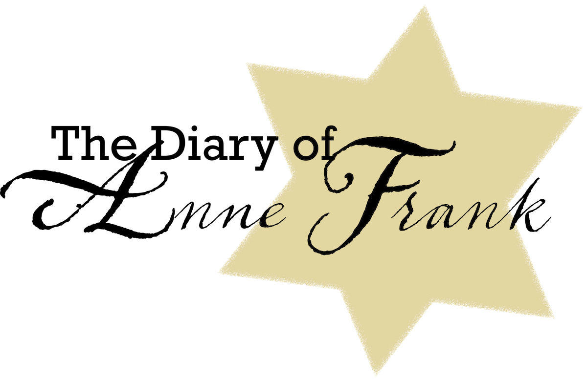 the diary of anne frank logo