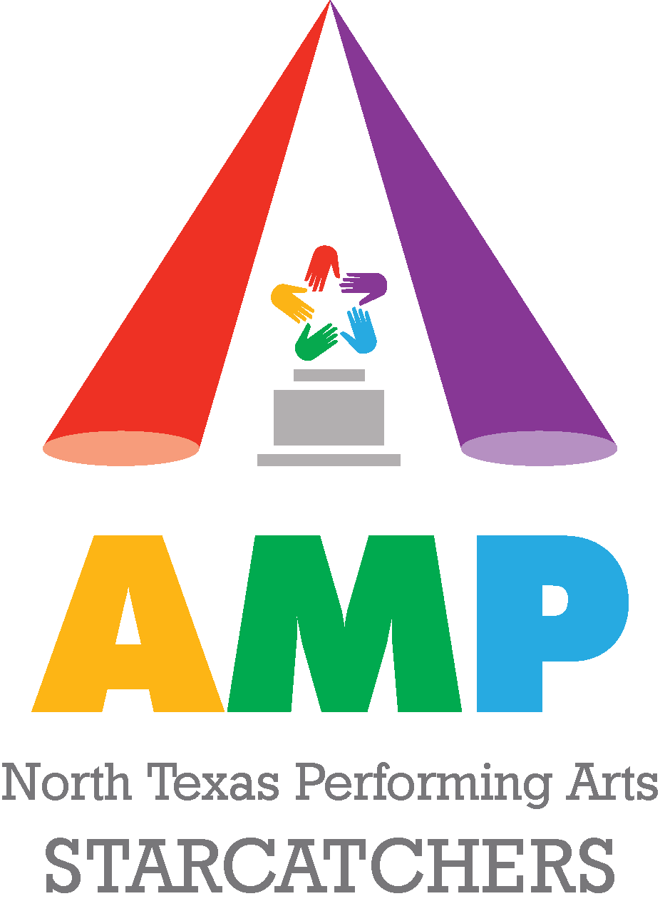 North Texas Performing Arts AMP awards for Starcatchers logo