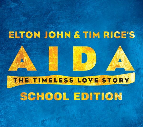 Elton John and Tim Rice's Aida School Edition logo