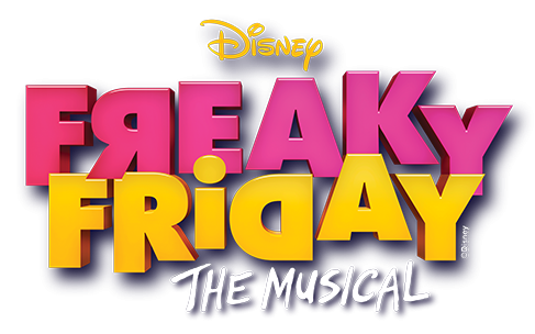 disney freaky friday the musical logo