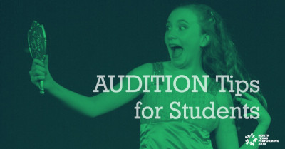 Audition Tips for Students blog article for North Texas Performing Arts
