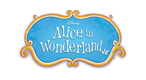 Disney's Alice in Wonderland Jr logo