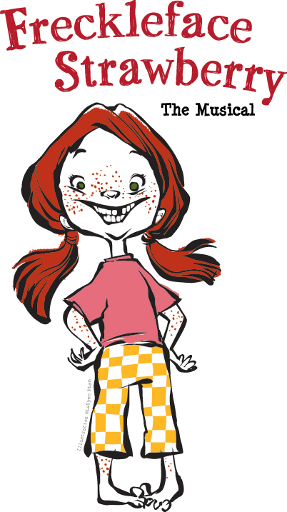 Freckleface Strawberry The Musical logo