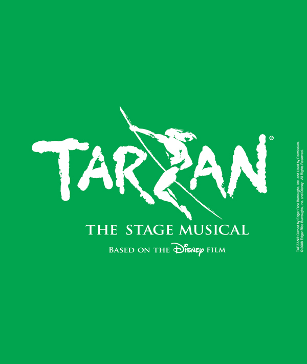 Tarzan the Stage Musical based on the Disney Film logo