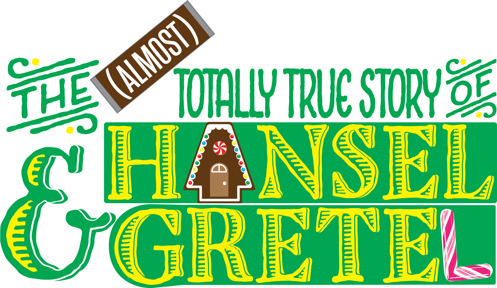 the almost totally true story of hansel & gretel logo