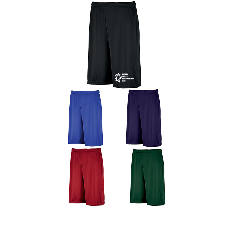 ntpa athletic shorts black blue purple red green