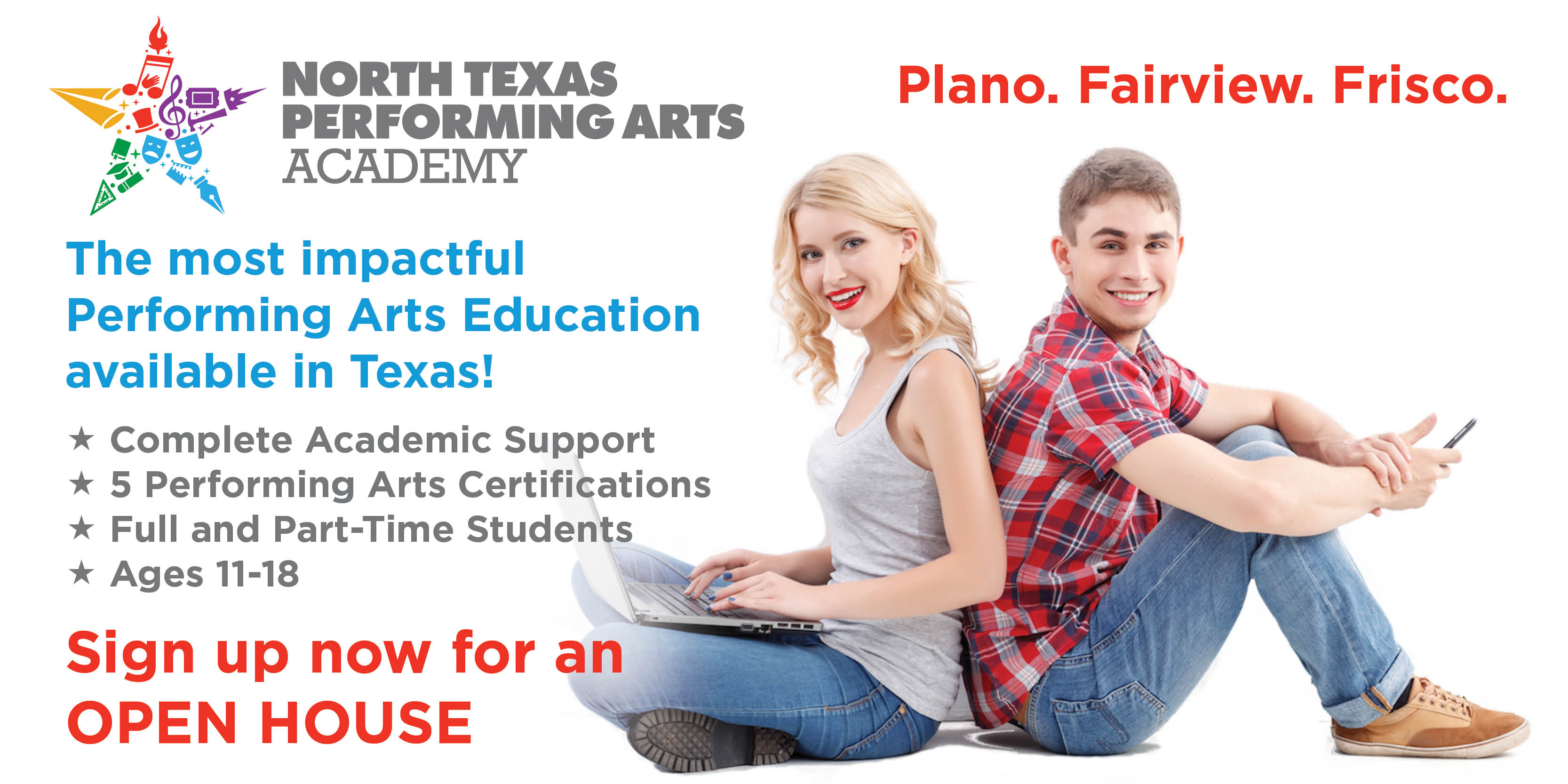 ntpa academy - the most impactful performing arts education in North Texas!