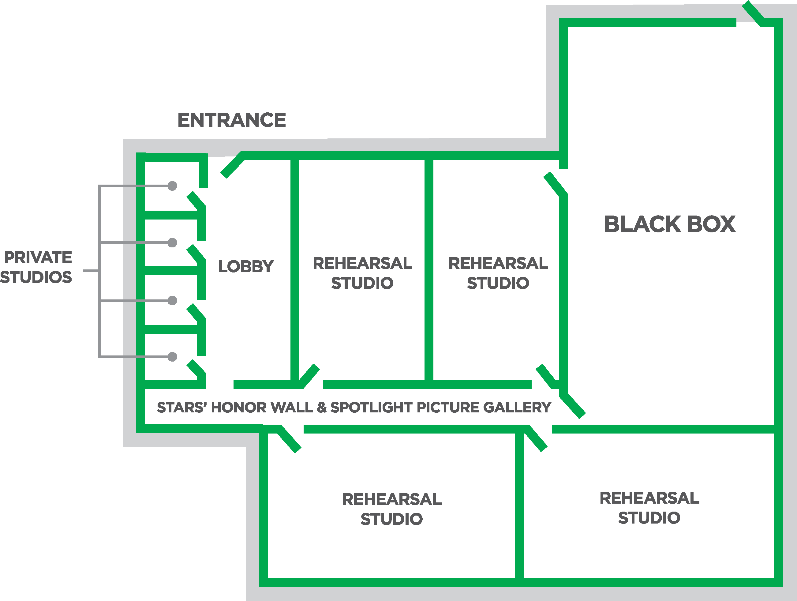 NTPA Dallas proposed floor plan for new facility