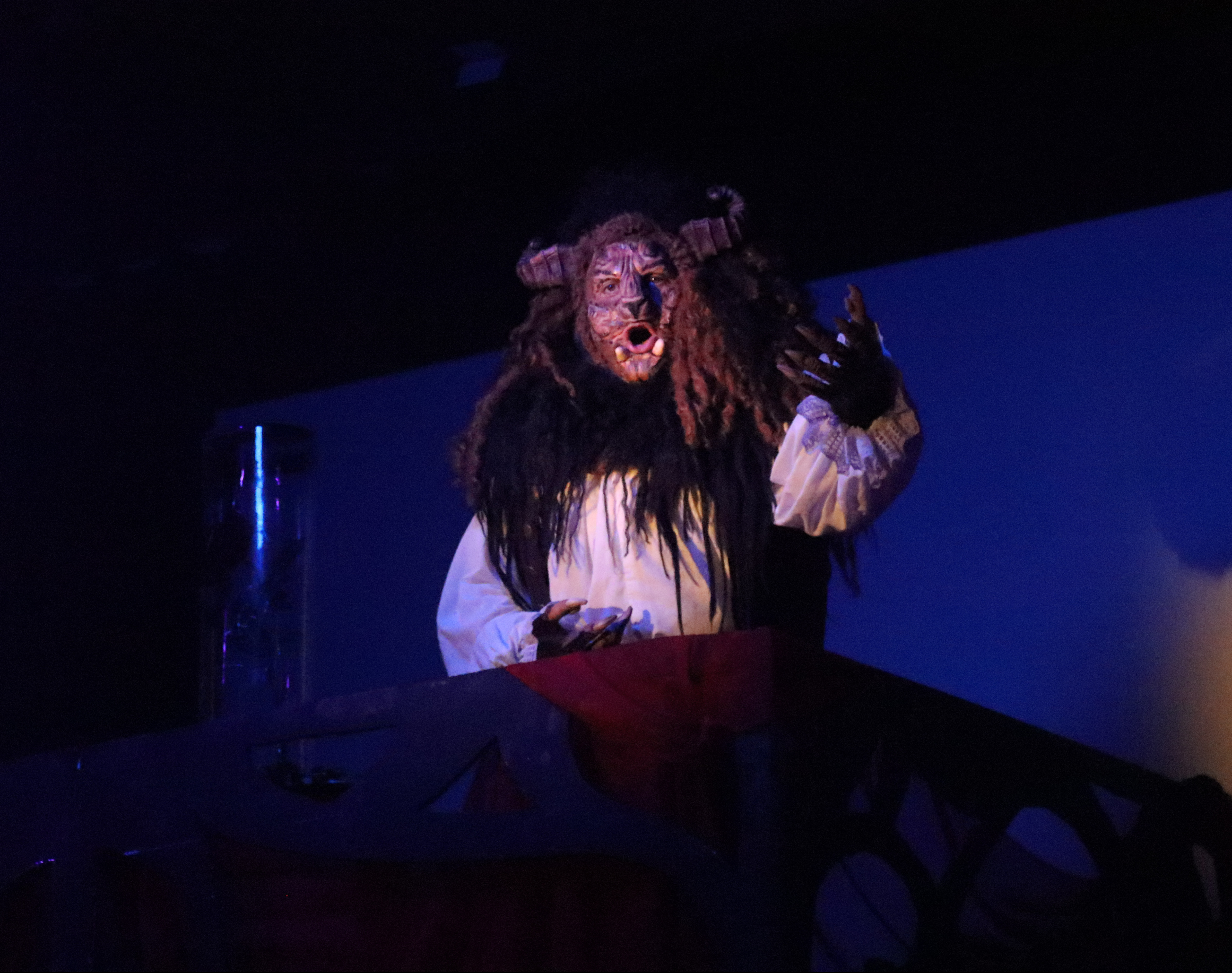 Kris Allen as Beast in NTPA Repertory's Disney's Beauty and the Beast