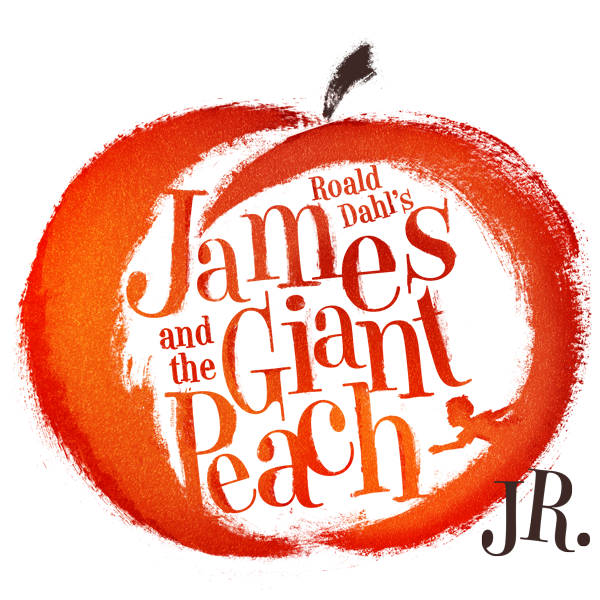 James and the giant peach logo