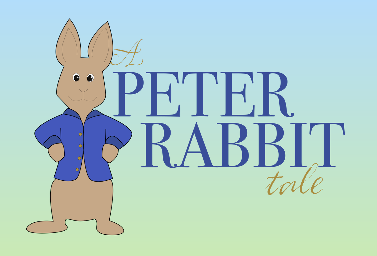 A Peter Rabbit Tale logo