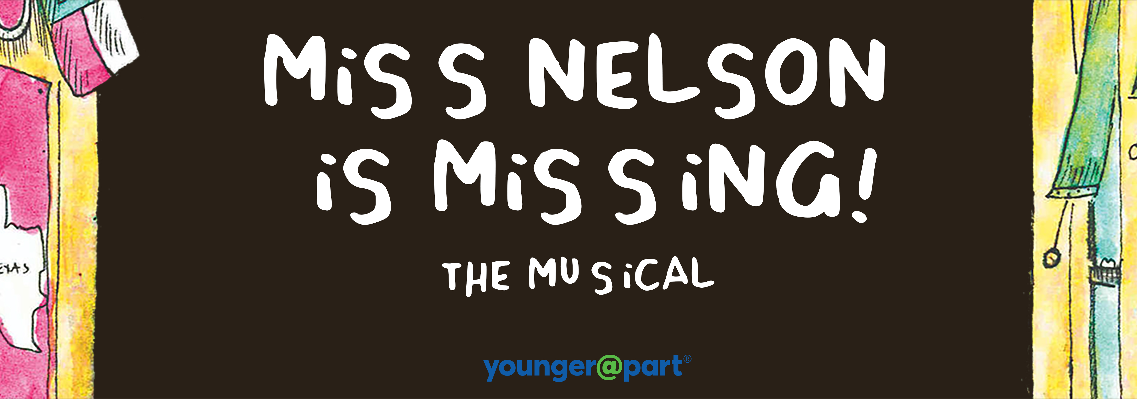 Miss Nelson Is Missing the Musical banner logo