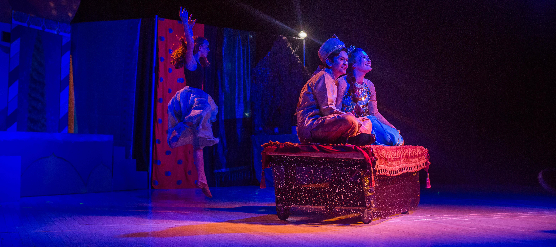 Performance of Disney's Aladdin