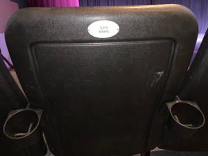 Fairview Chair Sponsor plaque