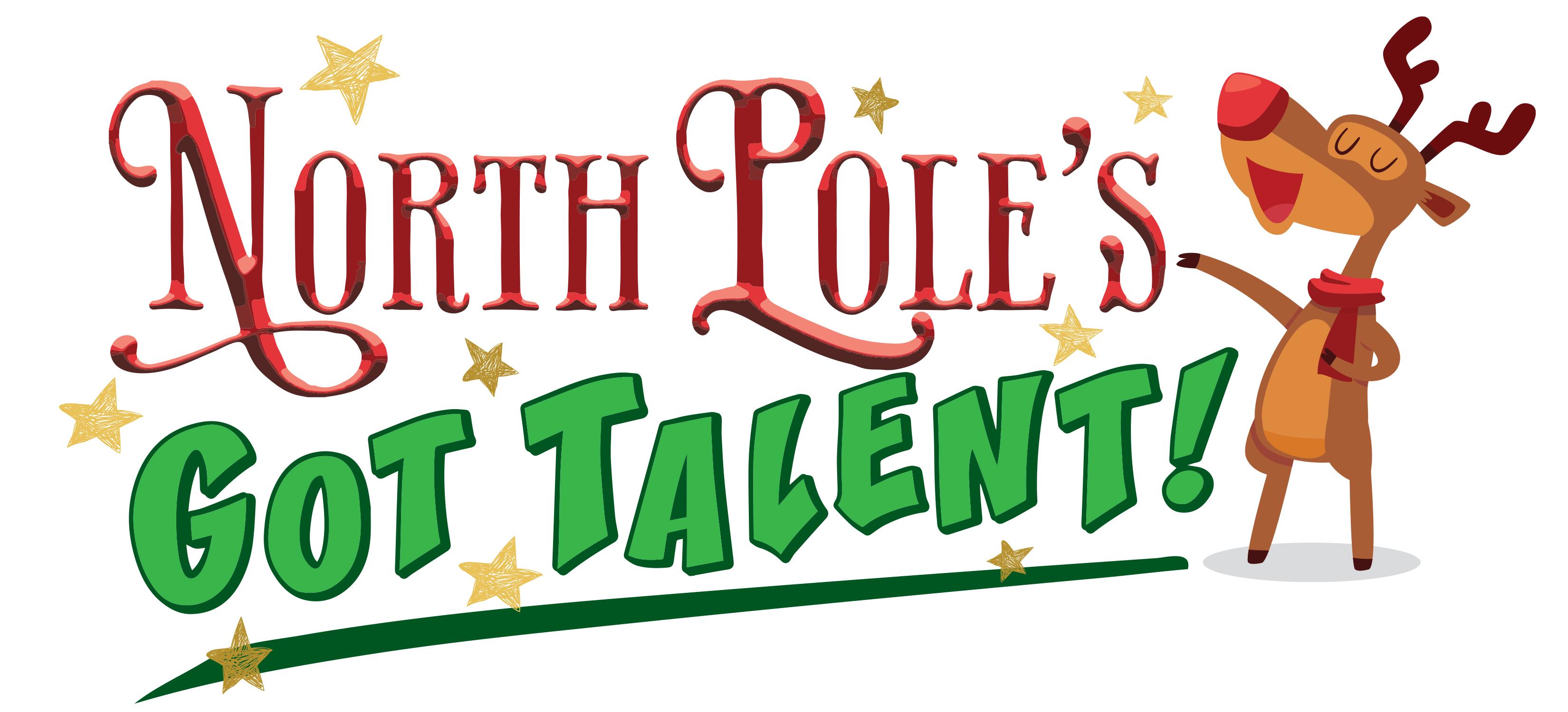 North Pole's Got Talent horizontal logo