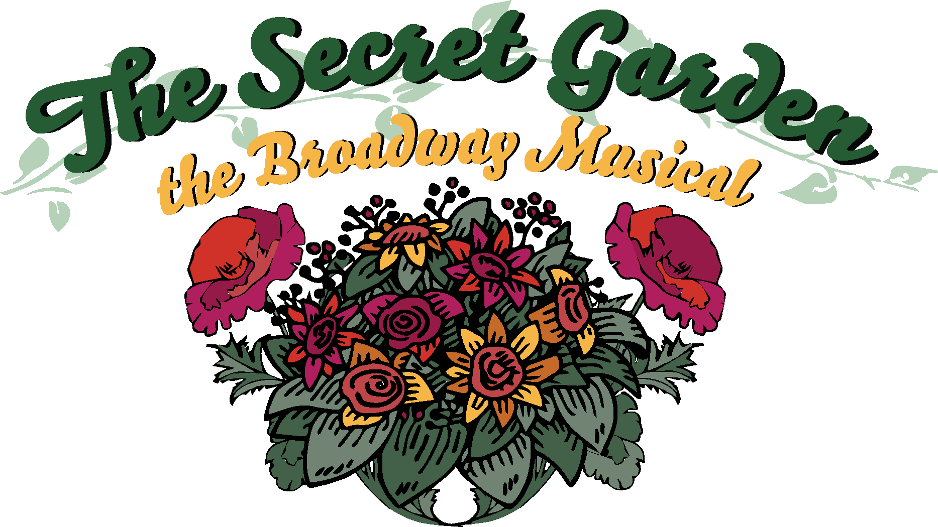 The Secret Garden: The Broadway Musical logo