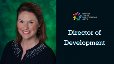 Patricia Gregory as NTPA Director of Development