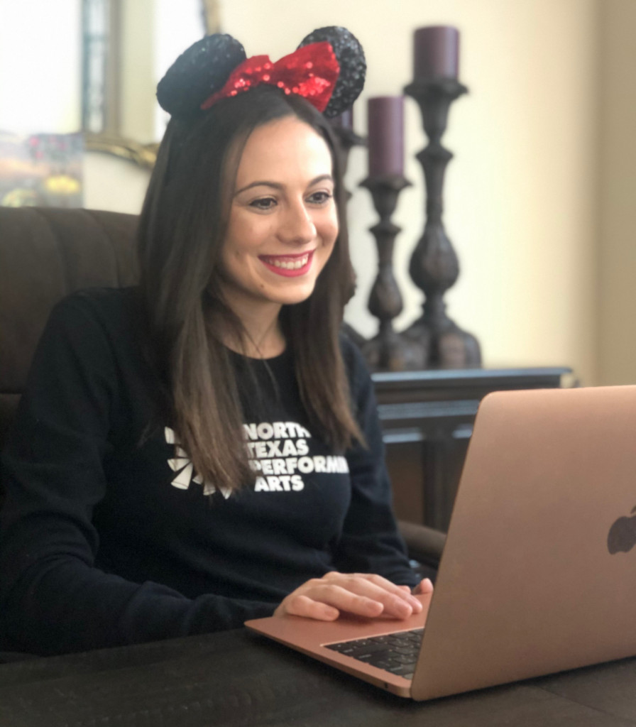 Lindsey Lederer teaches a virtual class - So you Want to be a Disney Actor Class