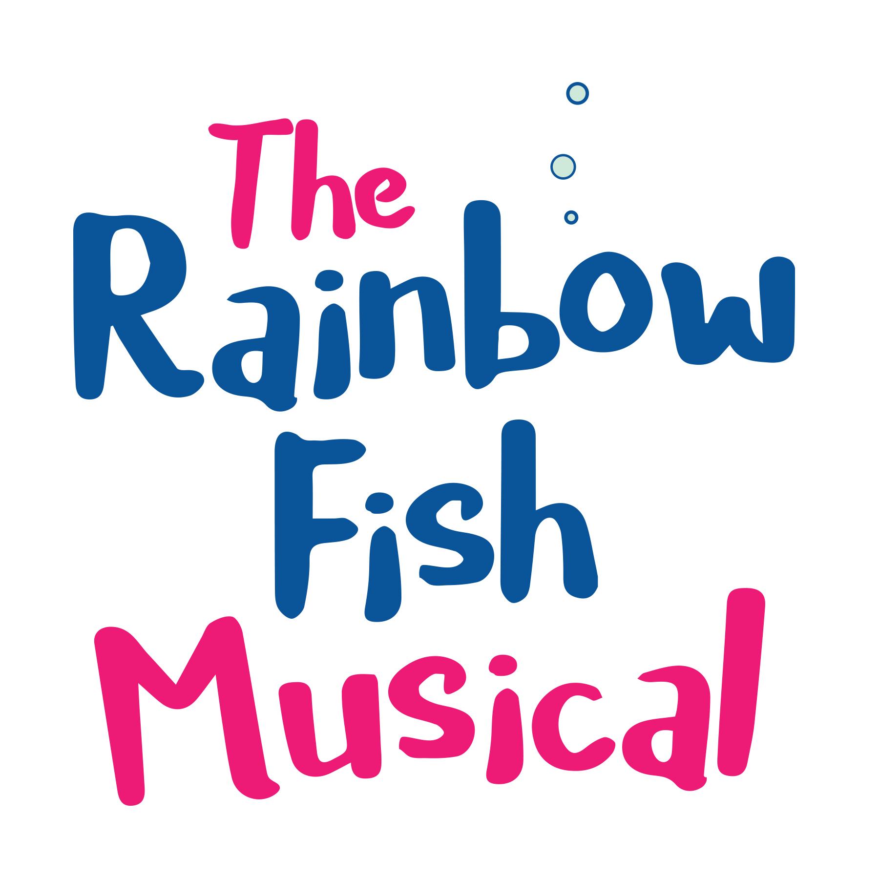 the rainbow fish musical logo