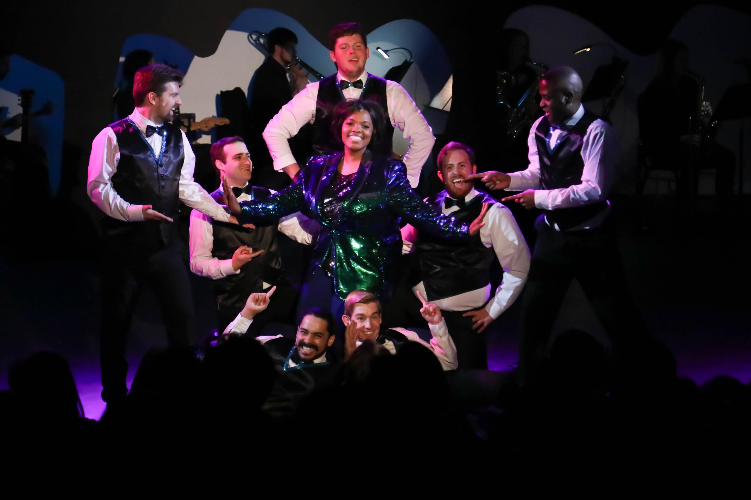 Adult actors perform in NTPA theatre show