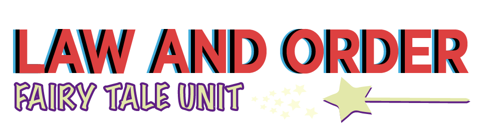 Law and Order Fairy Tale Unit Logo
