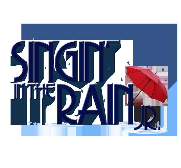 Singing in the Rain Jr Logo