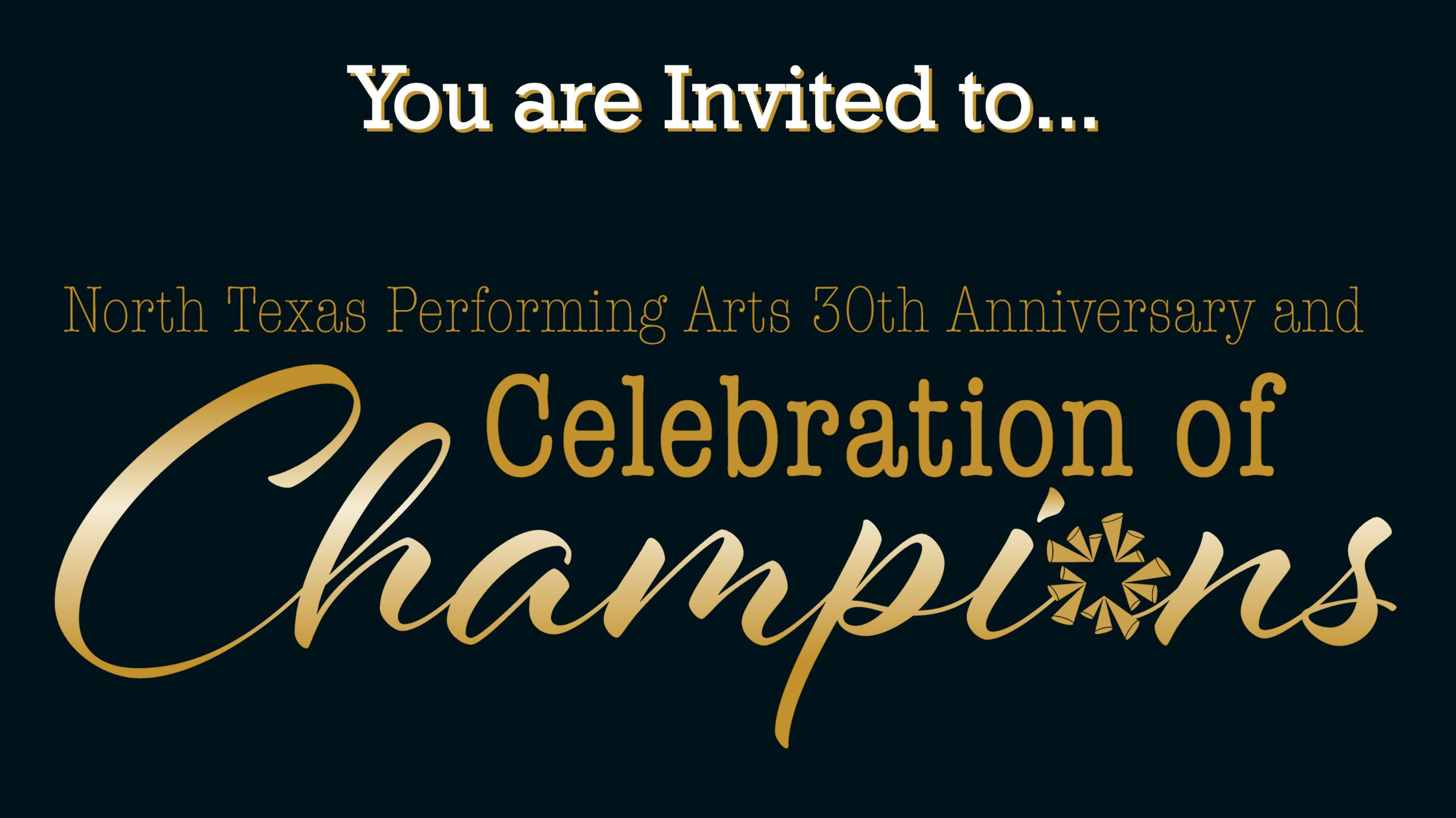 Celebration of Champions Blog