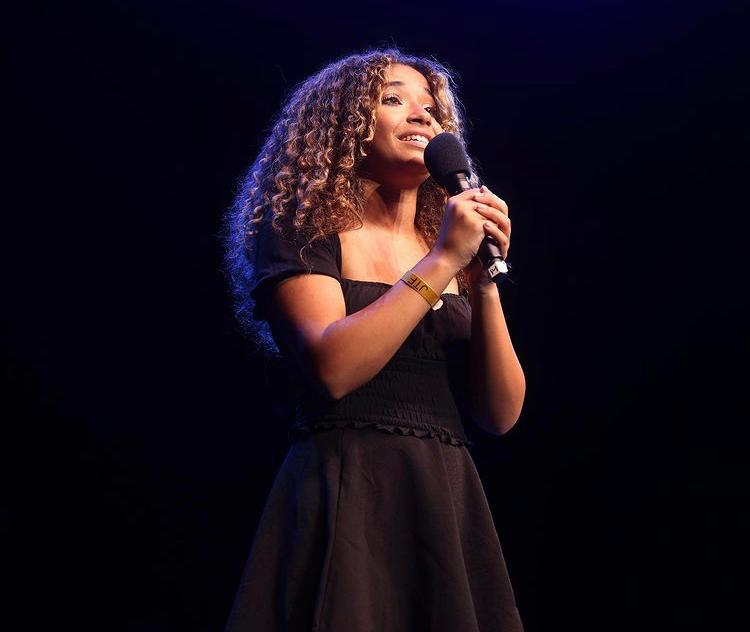 NTPA Academy student Amanda Reid performs at Junior Theatre Festival 2021
