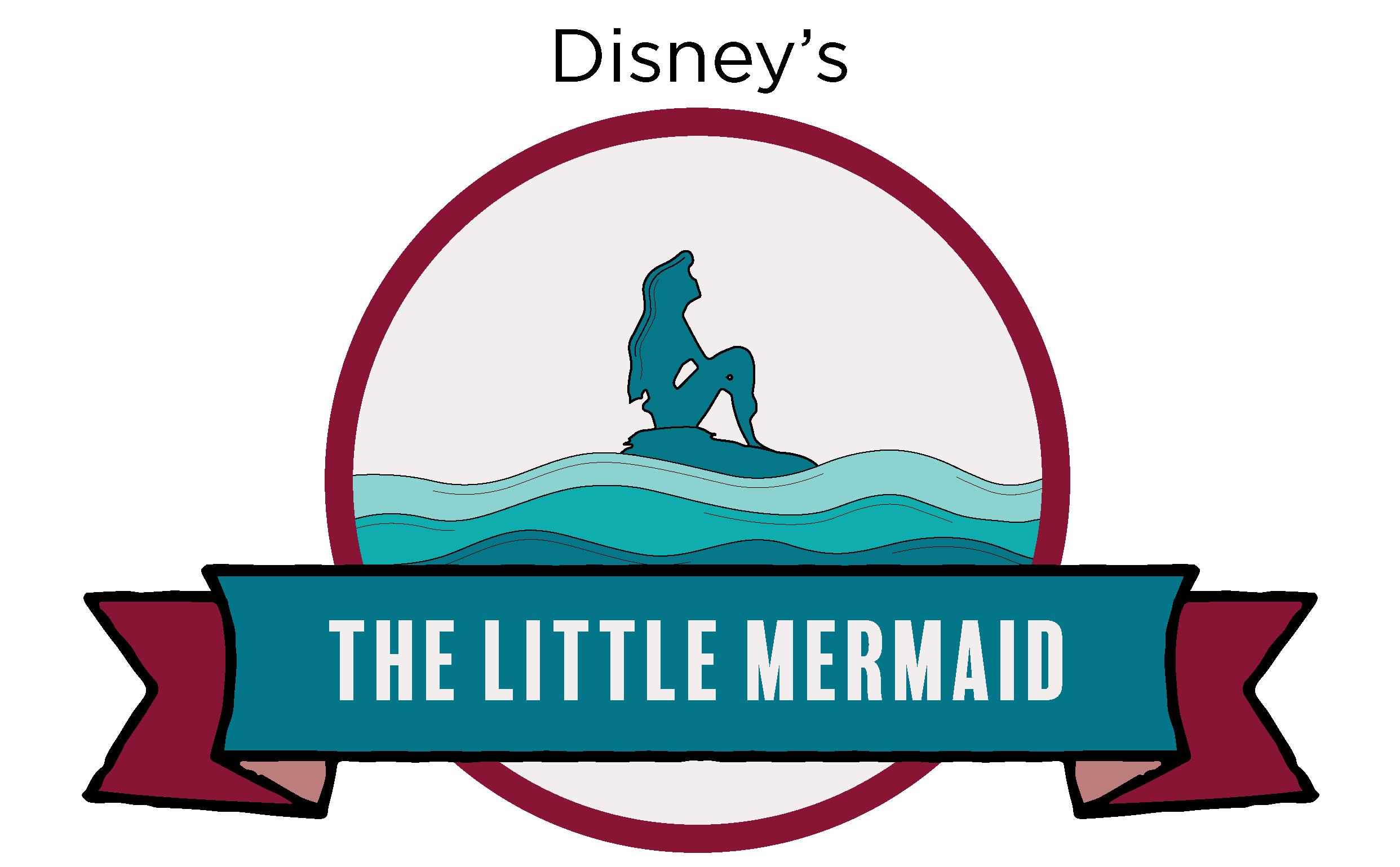 Disney's The Little Mermaid - NTPA Repertory Logo