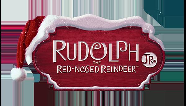 Rudolph the Red- Nosed Reindeer JR logo