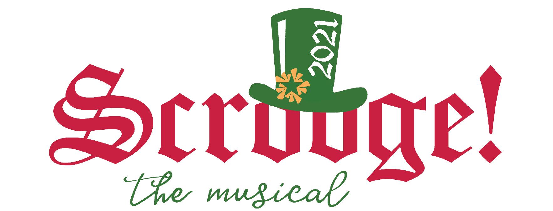 2021 NTPA Scrooge the Musical logo
