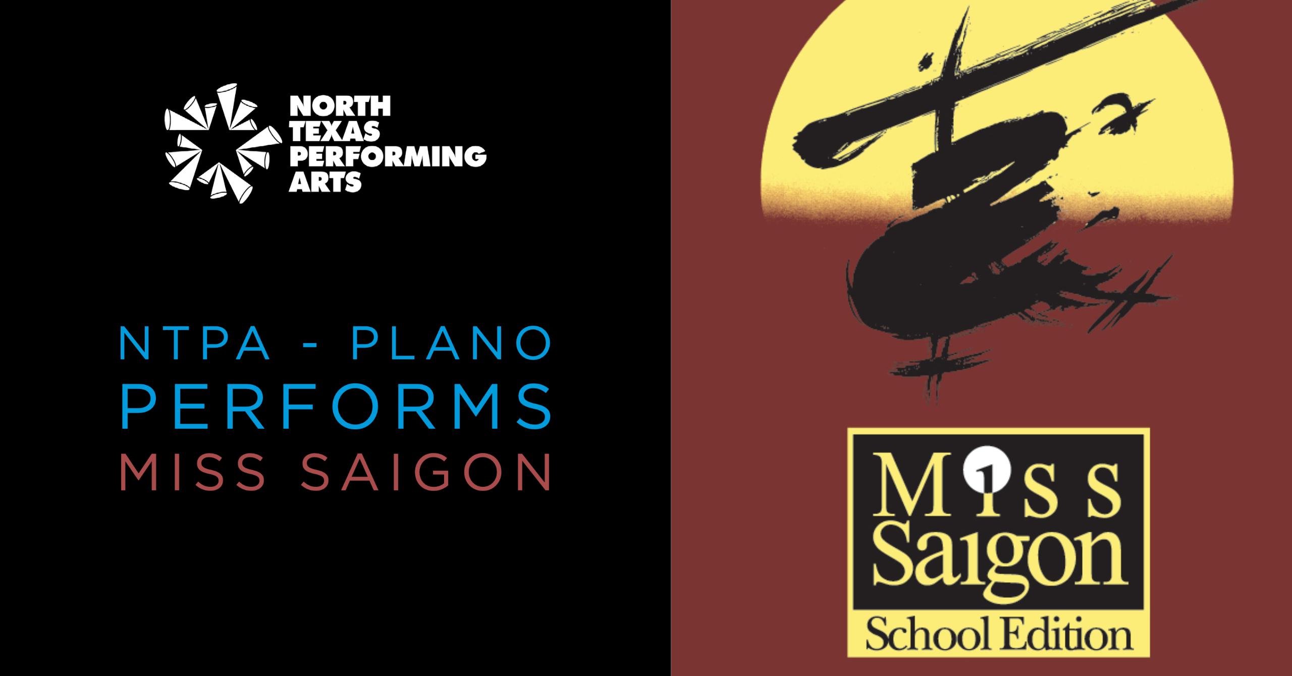 NTPA Plano performs Miss Saigon cover photo blog article