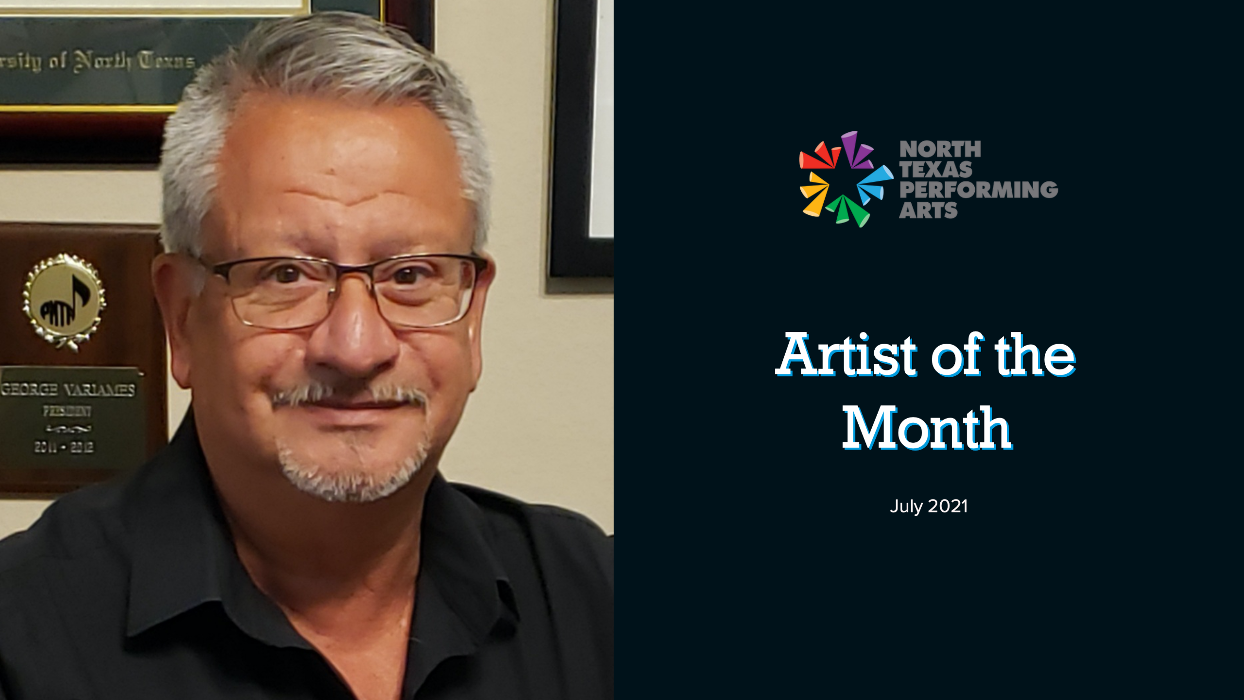 July Artist of the Month 2021 George Variames NTPA blog