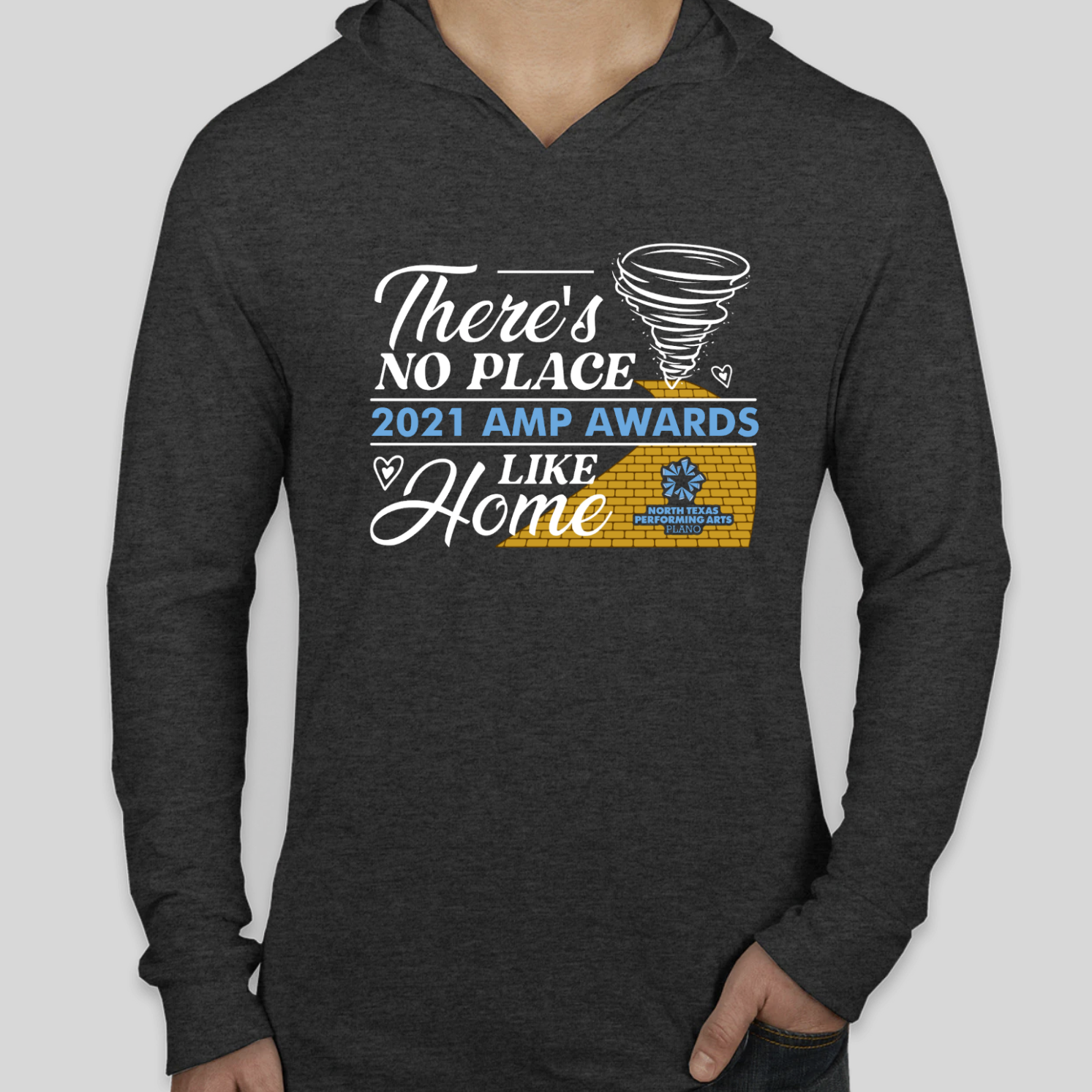 2021 Plano AMP Hoodie front