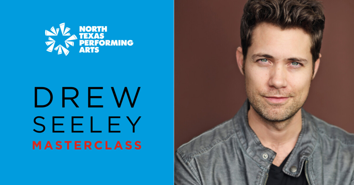 Drew Seeley Master Class blog