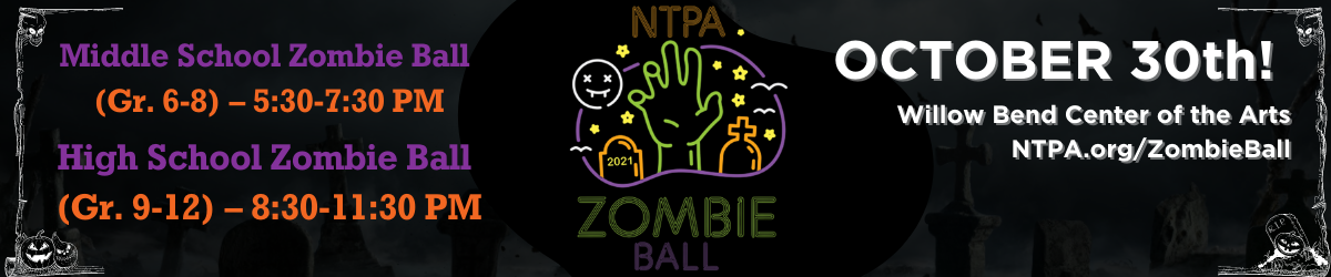 Join us at the Zombie Ball, October 30 at Willow Bend Center of the Arts