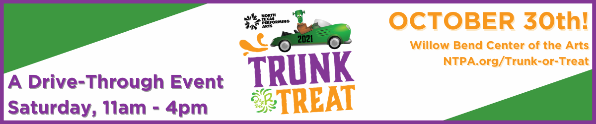 Join us at NTPA's Trunk or Treat, Saturday, October 30