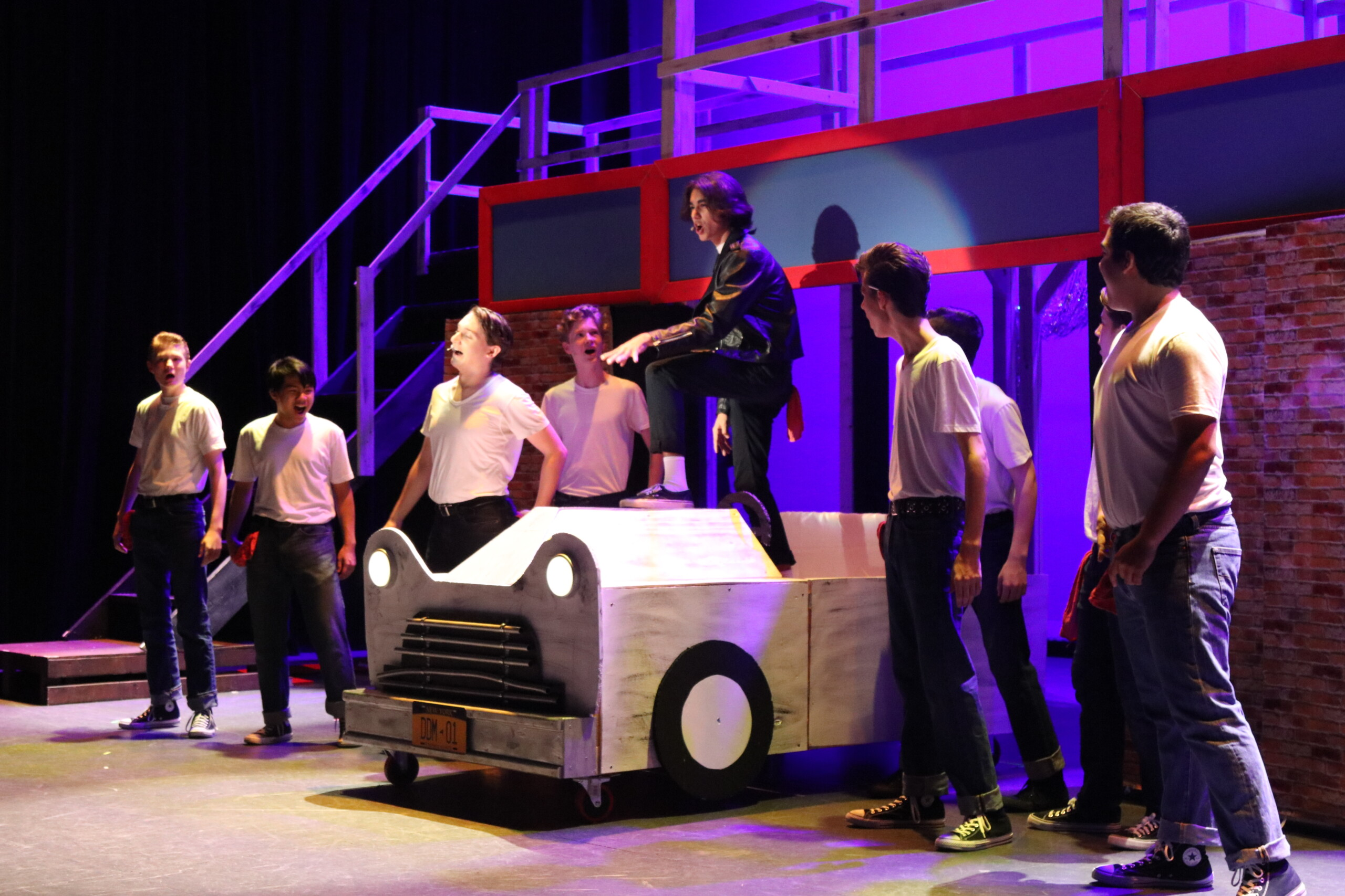 Grease Lightning performed in Grease