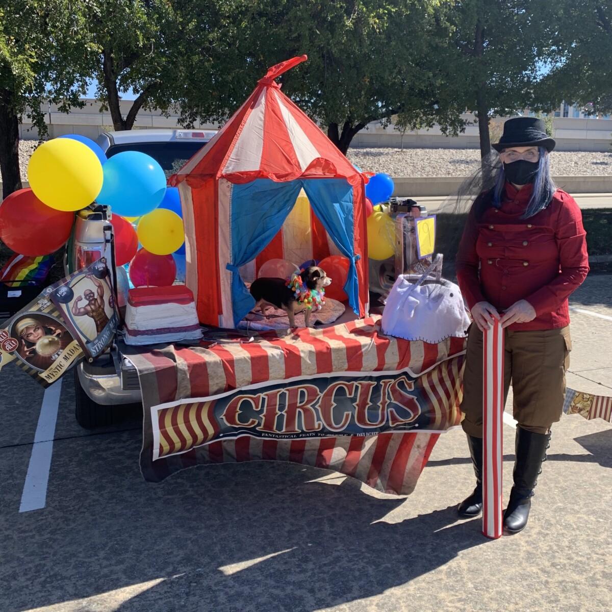 trunk or treat circus car